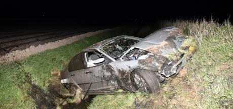 Vier jongeren gewond bij verkeersongeluk Poortvliet