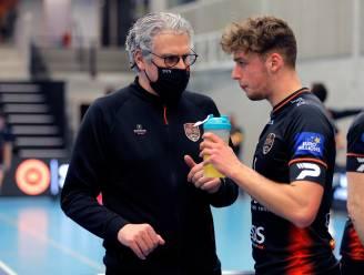 """Coach Jan Van Huffel: """"Knap volleyballen is in topsport niet voldoende, het moet eens vertaald worden in een positieve einduitslag"""""""
