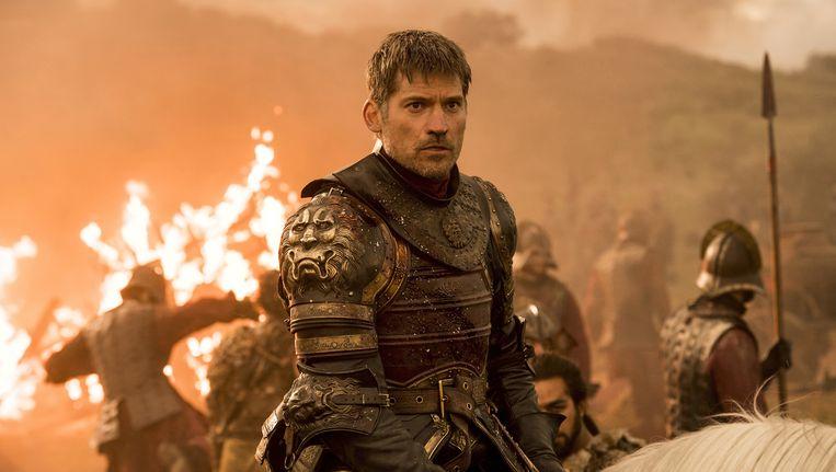 Nikolaj Coster-Waldau als Jaime Lannister in Game of Thrones. Beeld ap