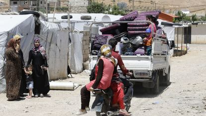 Libanese leger gestart met vernielen van Syrische vluchtelingenkampen
