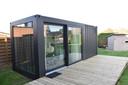 Een voorbeeld van een zorgunit die Add Home bouwde.