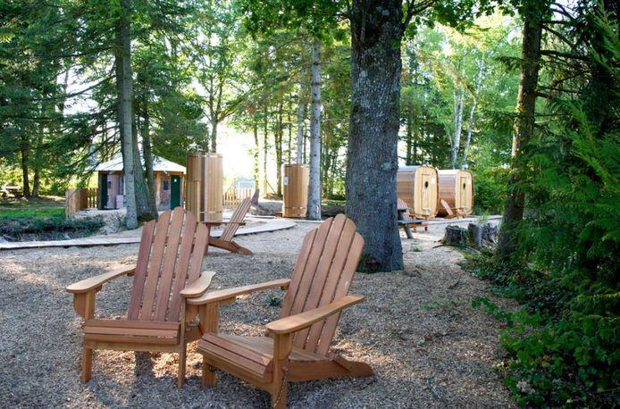 Les campings Huttopia s'adaptent à la nature et pas l'inverse.