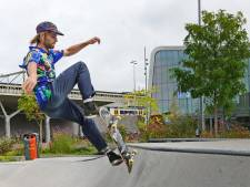Poging na poging na poging: Leon gaat niet naar huis tot zijn truc is gelukt in het Hengelose skatepark