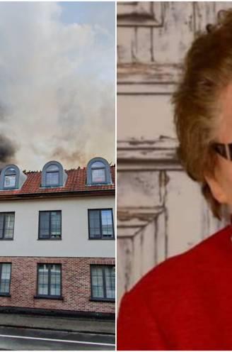 """Familie De Wulf verliest drie flats in zware brand, 'meme' Gaby (91) sterft midden de emoties: """"Ze had een hart van goud. Je kon geen betere grootmoeder wensen"""""""