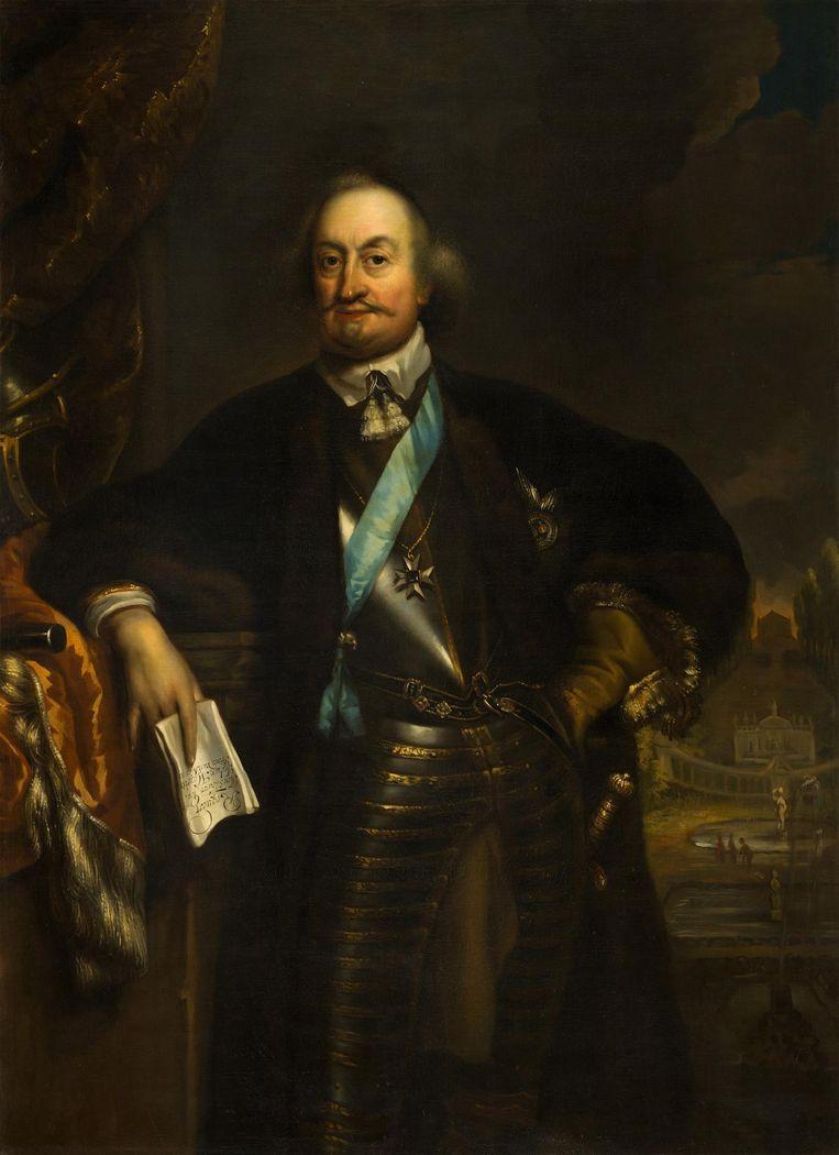 Portret van Johan Maurits van Nassau-Siegen (1604-1679). Beeld Wikimedia Commons via CC0