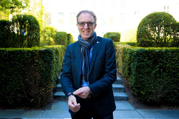 De huidige rector van de UGent Rik Van de Walle is kandidaat om zichzelf op te volgen.