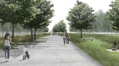 Aanleg centrale plein in Park Groot Schijn gaat van start