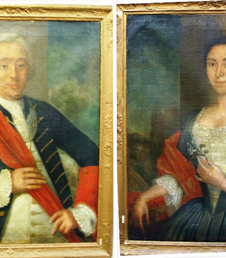 Van stoffig depot in Zwolle naar landhuis in Heino: deze portretten komen eindelijk weer thuis