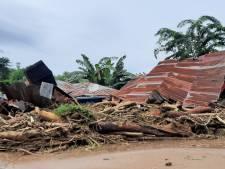 Dodental door cycloon in Indonesië bijgesteld van 128 naar 86
