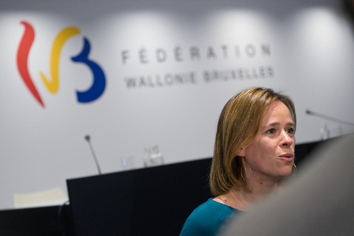 La ministre francophone de l'Education Caroline Désir (PS).