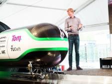 Tim Houter (27) genomineerd voor innovatie-prijs voor ontwikkelen van Hyperloop