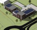 Het arbeidsmigrantenhotel komt te staan vlakbij de Burgemeester Van Boeijenrotonde tussen Harderwijk en Ermelo