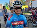 Kelly Van de Steen uit Wetteren verdedigde de kleuren van Chevalmeire.