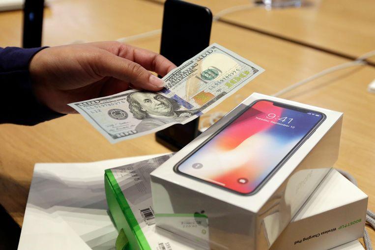 Steeds minder smartphones verkocht. Beeld AP