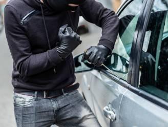 Dieven proberen auto te stelen maar worden opgeschrikt door bewoners en kunnen ontkomen