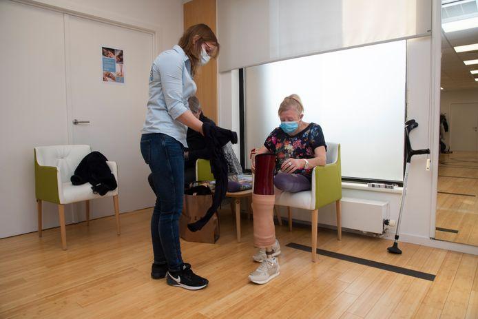 Hermine is de eerste die een elektronische knieprothese terugbetaald krijgt in België.