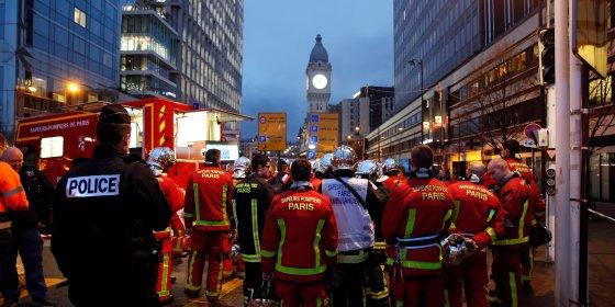 Manifestatie in Parijs loopt uit de hand: demonstranten stichten brand, Gare de Lyon ontruimd
