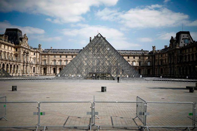 Le Louvre à Paris.
