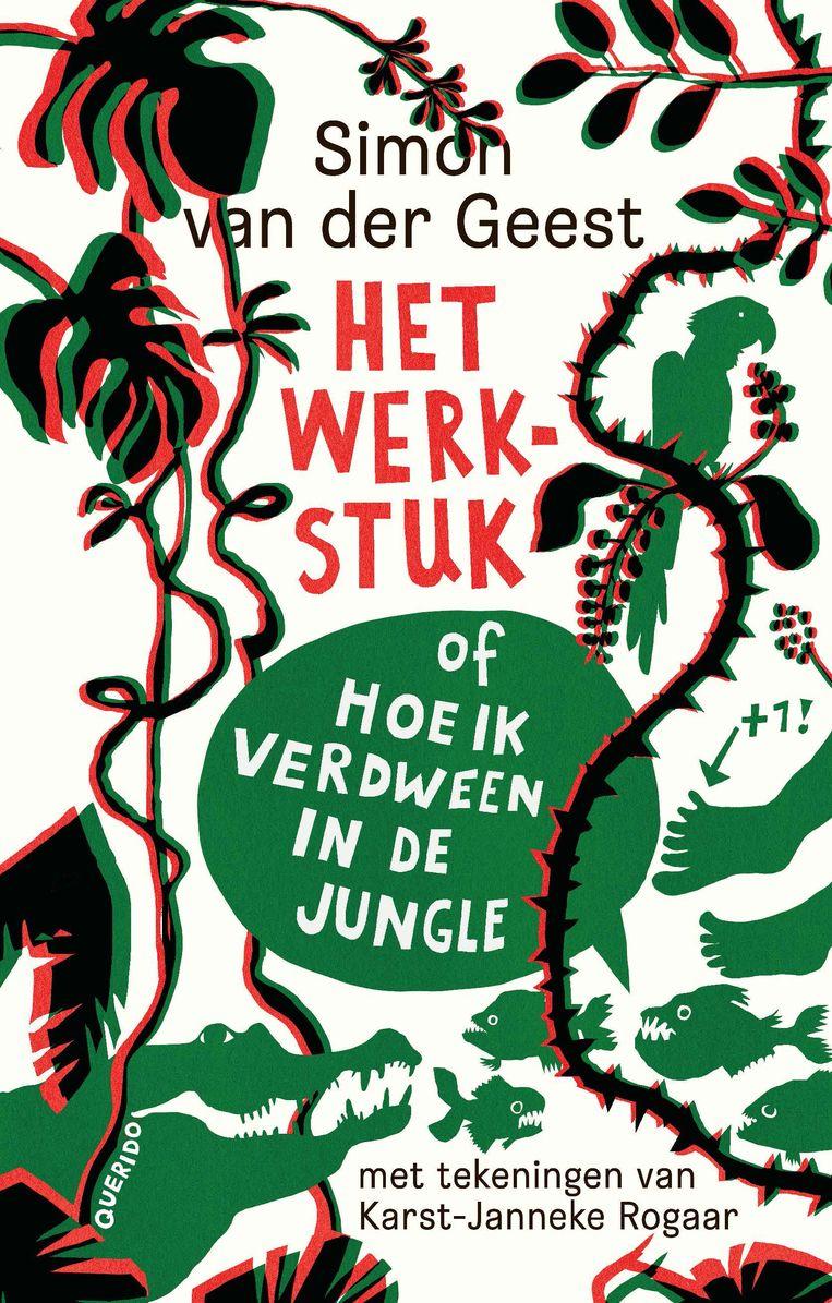Het werkstuk, Simon van der Geest & Karst-Janneke Rogaar, Querido, €15,99, 10+. Beeld