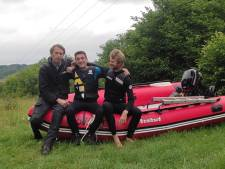 """Dan et ses amis se sont mis en danger pour sauver des vies à Chaudfontaine: """"Si c'était à refaire, je le referais"""""""