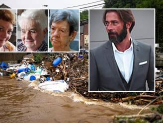 """OVERZICHT. Zij overleefden overstromingen niet. """"Yannick wilde dochter redden, maar stroming was te sterk"""""""
