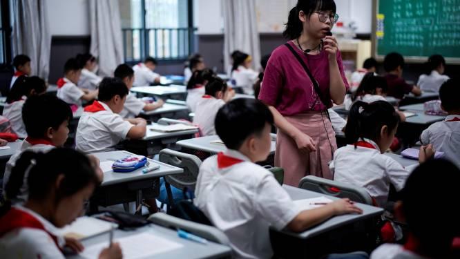 China verbiedt harde straffen op school