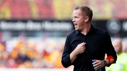 """Wouter Vrancken ging in gesprek met zijn spelers over extra-sportieve zorgen: """"Ik heb niet de indruk dat het doorweegt"""""""
