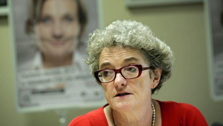 Minister van Werk Monica De Coninck. Beeld BELGA