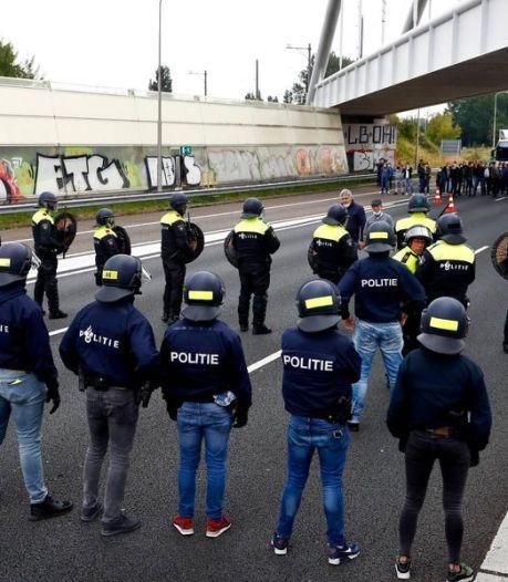 Kermisexploitanten uit Drenthe en Groningen demonstreren mee op het Malieveld: 'Het gaat om ons brood'
