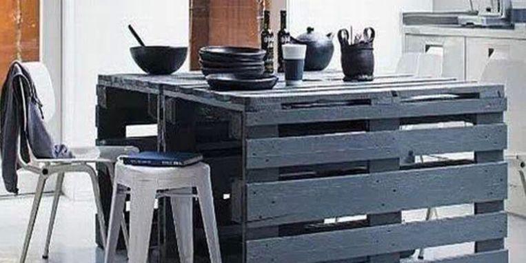 Maak je eigen keukenblok van pallets - Libelle Daily