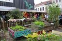 In 2014 streek 'samentuin' De Wasserette, een initiatief van het district Borgerhout, het Ecokot en de bewoners van de Mellaertsstraat, neer op de site van de voormalige wasserij.