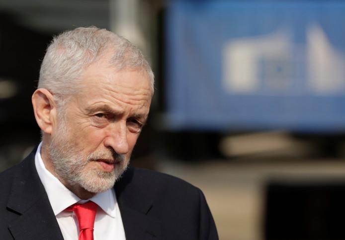 De Britse oppositieleider Jeremy Corbyn.