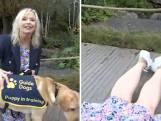 Une présentatrice renversée par un chien en plein direct à la télévision