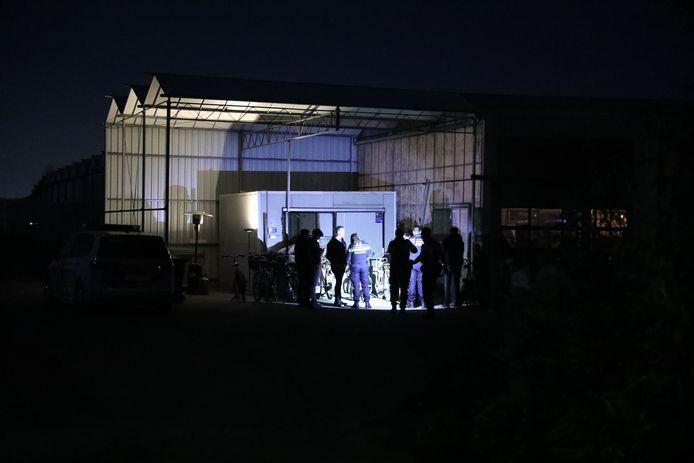 De politie beëindigde zaterdag een schuurfeest in Naaldwijk.