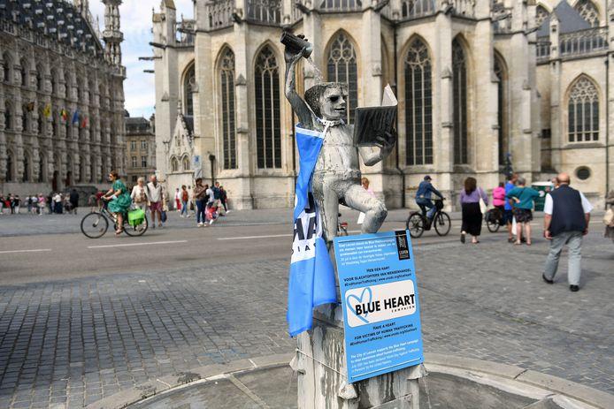 Leuven vraagt met Fonske aandacht voor problematiek van mensenhandel