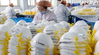 """China heeft al vier miljard mondmaskers uitgevoerd, """"normen aangescherpt"""""""