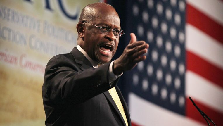 Herman Cain. Beeld AFP