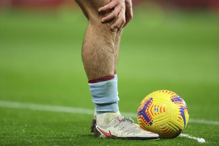De benen van Jack Grealish. Beeld Pool via REUTERS