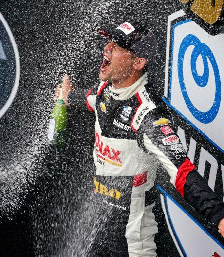 Van Kalmthout in tranen na sensationele zege in IndyCar Series: 'Een droom die uitkomt'