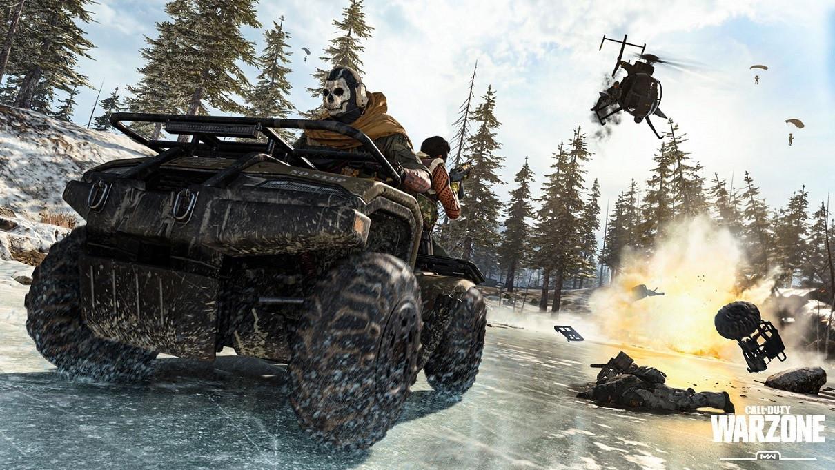 De nieuwe battle royale-modus in Call of Duty: Modern Warfare