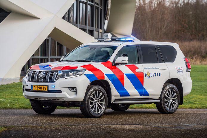 De nieuwe terreinauto's van de Nationale Politie komen van Toyota