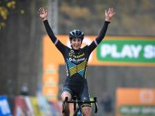 Wereldkampioene Brand wint vierde cross om Superprestige