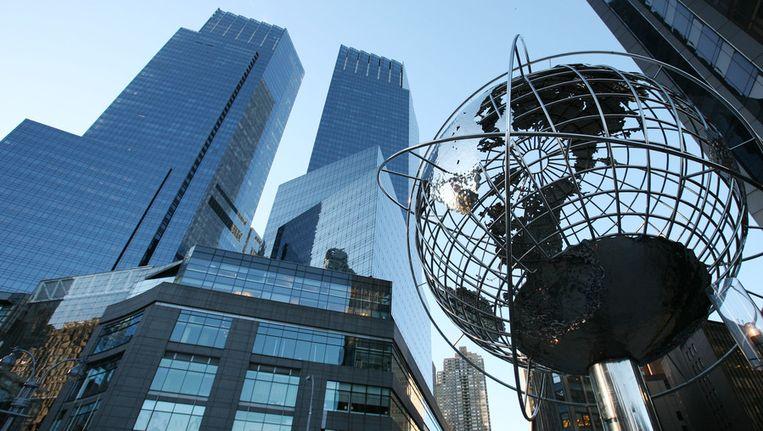 Het Time Warner Center in New York Beeld ap