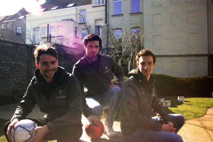 Oliver Francx, Tanguy Ongena en Matthias Seghers: het team van SCARAB Sports.