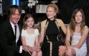 Nicole Kidman en famille aux Golden Globes.