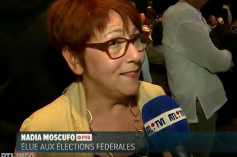 Nadia Moscufo is een van de nieuwe PTB-Kamerleden