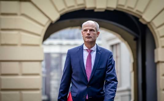 Minister Stef Blok van Veiligheid en Justitie.