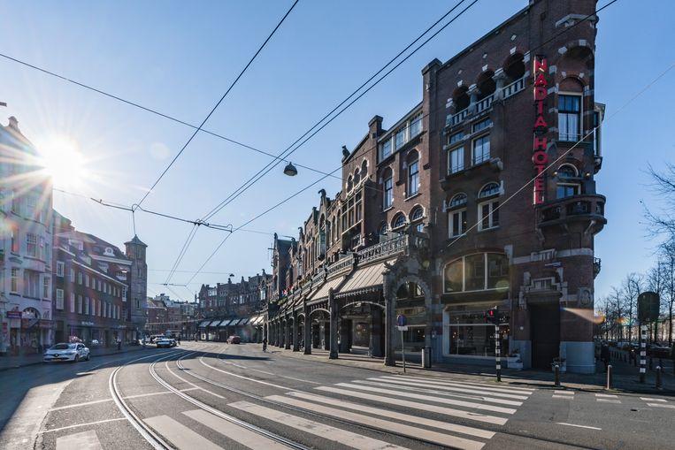 De Raadhuisstraat in Centrum.  Beeld Getty Images