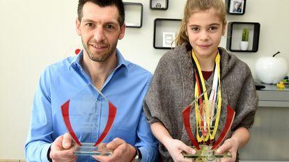 Trofees voor vader én dochter