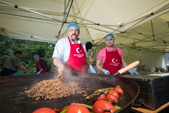 Het Turks Festival Arnhem in Park Presikhaaf.